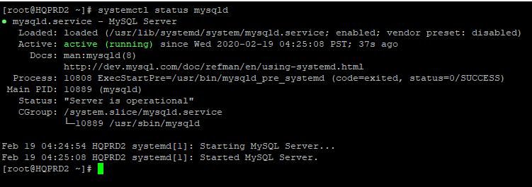 install mysql in Linux