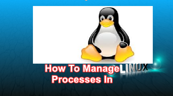 managing process in linux