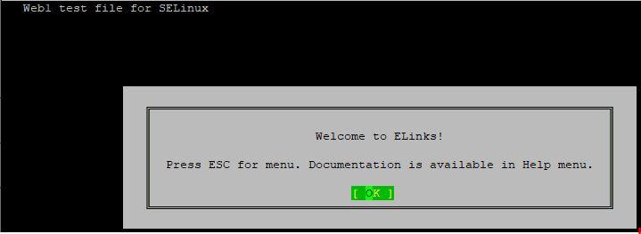 install elinks rhel 8