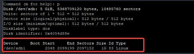 storage management in Linux