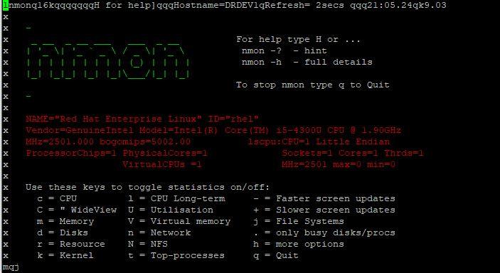 install nmon in RHEL 8