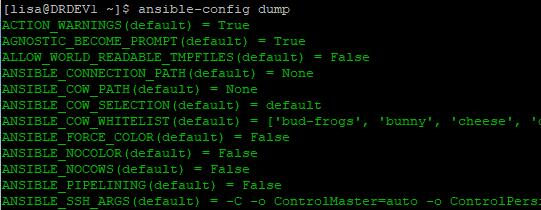 ansible configuration file